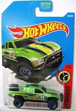 Hot Wheels TOYOTA OFF-ROAD TRUCK - Green 2016 HW Daredevils #7/10 Q-case racer