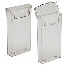 1/3rd A4 DL OUTDOOR LEAFLET DISPENSER WATERPROOF HOLDER