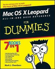 Mac OS X Leopard All-in-One Desk Reference For Dummies, Chambers, Mark L., Good