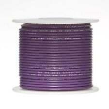Violet Stranded Teflon Hook Up Wire 20 AWG M16878/4 Type E UL1213 Silver Plated