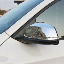 2PC FITFOR BMW F20 F30 1 2 3 4 X1 i3 CHROME SIDE WING DOOR MIRROR COVER TRIM CAP