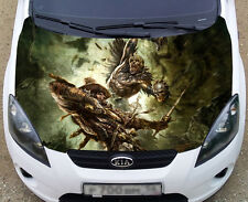 Full Color Graphic Adhesive Vinyl Sticker Fit any Car Hood Warhammer #028