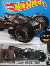 HOT WHEELS - BATMAN ARKHAM KNIGHT BATMOBILE 229/250 - MOC