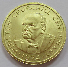 1974 Turks & Caicos Islands 50 Crowns Gold Coin - Winston Churchill KM# 3