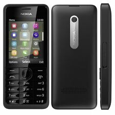 Nokia 301 Black 3.2MP 2.4in. Bluetooth Cell Phone Unlocked Mobile Phone