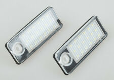 2x Canbus LED number License Plate Light For Audi A6 / S6 B4 C5 Avant 1998-2005