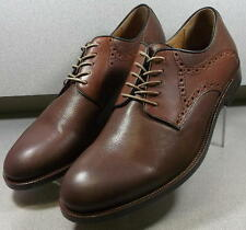 156104 PF50 Men's Shoe Size 11 M Brown Leather Lace Up Johnston & Murphy