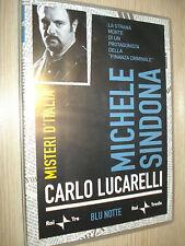 DVD N° 15 MICHELE SINDONA FINANZA MISTERI D'ITALIA BLU NOTTE CARLO LUCARELLI