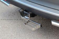 MARCHE-PIEDS INOX SIMPLE  VW T5 03-15, GARANTI 6ANS, SE FIXE SUR L'ATTELAGE
