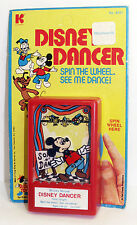 1970's DISNEY DANCER KOHNER Push Puppet Mickey Mouse Toy Vintage Carded