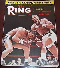 The Ring Magazine August 1963 Sonny Liston / Floyd Patterson Collectable