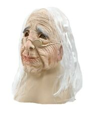 OLD WOMAN OVERHEAD RUBBER ADULT MASK FANCY DRESS HALLOWEEN ACCESSORY