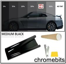 CAR VAN BUS WINDOW TINT FILM TINTING MEDIUM BLACK SMOKE 35% 76cm x 3M  30X118""