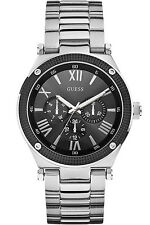 GUESS W0246G1,Men's Multi-fanction,Screw Crown,BRAND NEW WITH TAG AND GUESS BOX