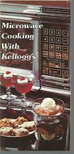 Microwave Cooking With Kellogg's Pamphlet