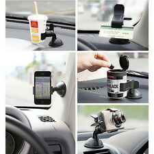 360°Rotating Car Windshield Mount Holder Stand For Mobile Phone GPS New