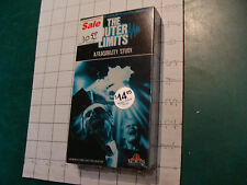 Factory Sealed VHS: THE OUTER LIMITS: a Feasibility Study
