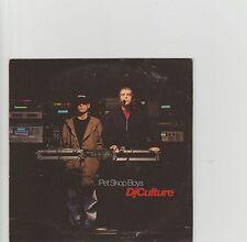 Pet Shop Boys-Dj Culture UK cd single