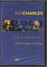 DVD ZONE 2--CONCERT--RAY CHARLES--IN CONCERT WITH DIANE SCHUUR--NEUF