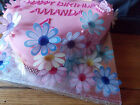 24 Edible paper Flowers for cakes/cupcake toppers