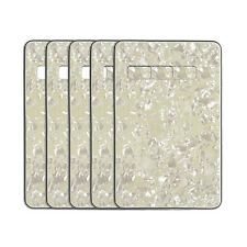 5pcs Aged Pearl 4Ply Tremolo Spring Cover Guitar Back Plates For FD Strat Guitar