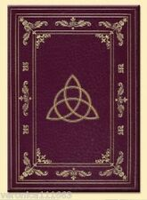 """Triquetra Journal NEW 160pg Hard cover Wiccan journal Book of Shadows 9"""" x 6"""""""