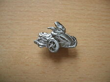 Pin Anstecker Can-Am Spyder ST-S Relief Badge Motorrad Art. 1252 Dreirad Trike