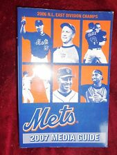 Mets 2007 Media Guide (paperback, 552 pages)