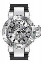Invicta Subaqua Multi-Function Silver Dial Black Polyurethane Mens Watch 17113