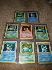 Pokemon Shadowless Charizard Original 151/150 Base Jungle Fossil 10 Cards 2 Holo