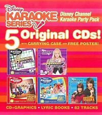 Disney Channel Karaoke Party Pack [5 CD]  Complete KIDS/FAMILY