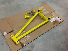 Gemtor HL3-S1 Stanchion 4 Temporary Horizontal Lifeline Fall Protection. NEW
