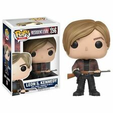 "RESIDENT EVIL LEON S. KENNEDY 3.75"" VINYL FIGURE POP GAMES FUNKO GREAT GIFT 156"