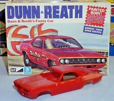 "MPC 1972 PLYMOUTH BARRACUDA ""DUNN & REATH"" FUNNY CAR #1-0754 1/25 AMT BODY ONLY"