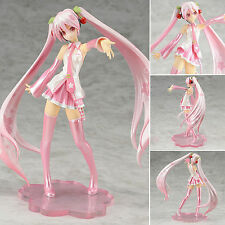 New Anime Vocaloid Sakura Hatsune Miku PVC Action Figure Figurine Collectibles