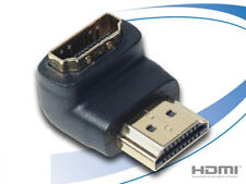 HiViLux HDMI 90 ° Winkel-Adapter 1,4a HighSpeed with Ethernet 1080p 3D ARC 1,4