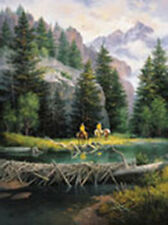 Lure of the Rockies by Jack Sorenson Cowboy Western Open Edition Paper Print