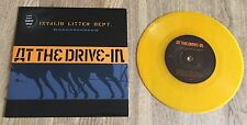 "At the Drive-in-invalid Litter Dept. 7"" yellow vinyle the mars volta Antemasque"