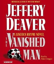 VANISHED MAN by JEFFERY DEAVER - GREAT AUDIO BOOK W/ FREE SHIPPING