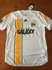 adidas LA GALAXY authentic player issue jersey MLS Large Long and Short sleeve