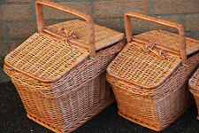 Wicker Picnic Hamper Basket handmade -FOR GIFT -large