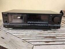 Piastra di registrazione Technics tape deck RS-B965 vintage