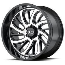 20 Inch Black Wheel Rims Jeep Wrangler JK XD Series Surge XD826 20x10 Single 1
