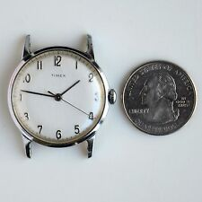 Vintage Timex Hand Winding Mens Watch No Works For Parts AS IS
