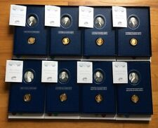 2007 and 2008 United States Mint Presidential $1 Coin Historical Signature Sets