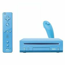 Nintendo Wii Limited Edition Blue Console with Accessories