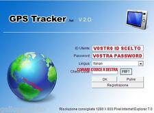 PIATTAFORMA ONLINE WEB SERVER GPRS GPS TRACKER TK102-B TK103A-B TK104 TK106-B ++