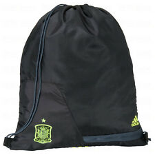 adidas Spain WC World Cup 2014 Soccer Shoe Sack Gym Pack Fitness Bag Black