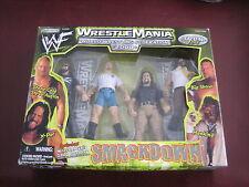 WWF WWE Smackdown 2000 x-pac Stone Cold Steve Austin Big Show & Mankind figures