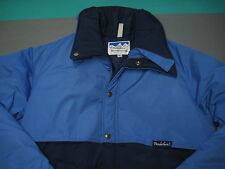 VTG Powderhorn Mountaineering Insulated Two Toned Blue Insulated Jacket Mens XL